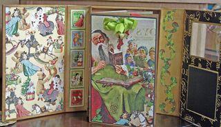 CHA-S Altered Art Box Christmas 6