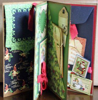 CHA-S Altered Art Box Christmas 8