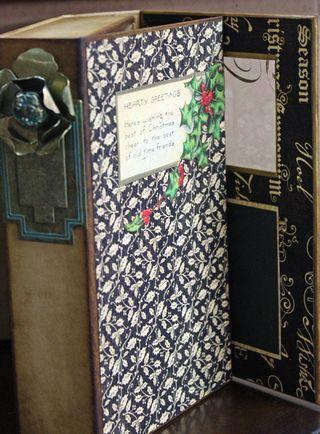 CHA-S Altered Art Box Christmas 2