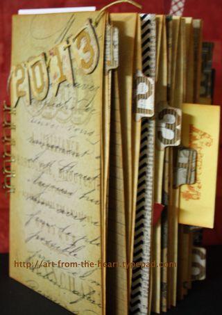 Junque Journal November Bookbinding