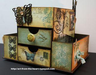 Gina's Designs Cabinet 1