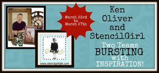 Ken Oliver StencilGirl HOP BLOG HEADER