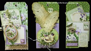 Time To Flourish March Tags