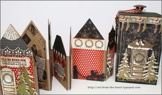 7 Gypsies Christmas Houses